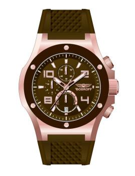 Relógio Masculino Preto e Castanho