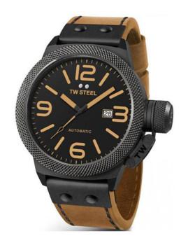Relógio Homem Tw Steel Preto e Castanho