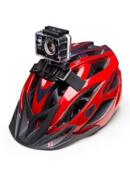 Suporte Casco Bicicleta Para Gopro e Câmeras Deportivas