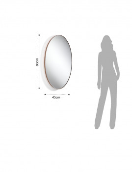 imagem de Espelho de Parede Fit Cobre2