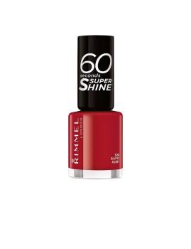 Verniz Rimmel London 60 Seconds Super Shine #320 Rapid Ruby