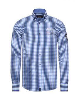 Camisa Denim Culture Azul Royal