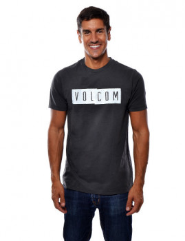 T-Shirt Volcom Homem Shifty Preto
