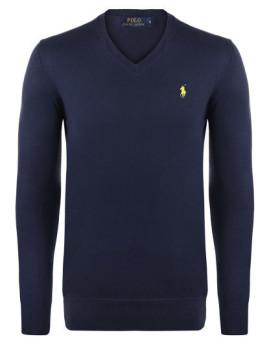 Pullover Azul Navy e Amarelo Homem Ralph lauren