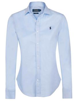 Camisa Ralph Lauren Senhora Azul