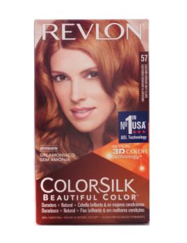 Revlon Colorsilk Tinte 57-Castanho Dourado muito Claro
