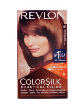 Revlon Colorsilk Tinte 50-Castanho Claro cinza