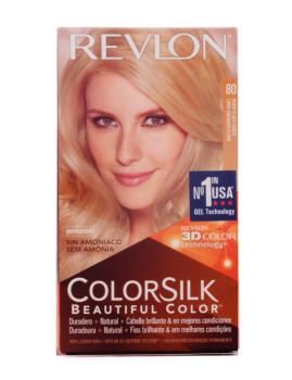 Revlon Colorsilk Tinte 80-Loiro Medio cinza