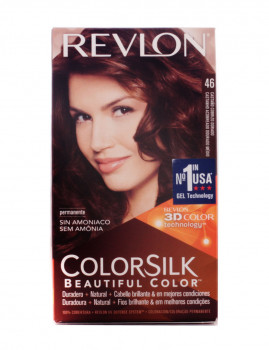 Revlon Colorsilk Tinte 46-Castanho cobre Dourado
