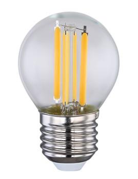 imagem de Lâmpada LED Globe Vidro Transparente 3