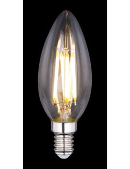 imagem de Lâmpada LED Globe Vidro Transparente Pack 23