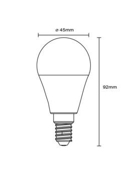 imagem de Lâmpada LED Globe Plástico Opala 6