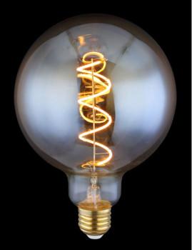 imagem de Lâmpada LED Globe Vidro Âmbar Transparente 4