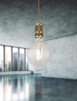 imagem de Lâmpada LED Globe Vidro Transparente 4