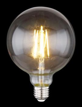 imagem de Lâmpada LED Globe Vidro Transparente 2
