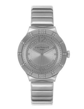 Relógio Cacharel Prateado com Brilhantes