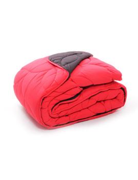 Edredon Bicolor Vermelho 250x240