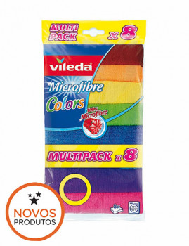 Pano Microfibras Colors 8 UN