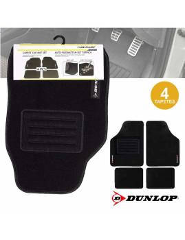 Conj. de 4 Tapetes Universais Premium para Carro Dunlop