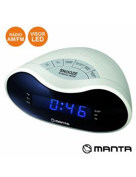 Relógio Despertador Digital com visor LED