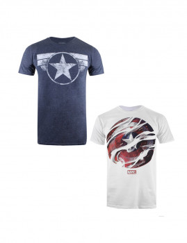 Pack de T-shirts Marvel Adulto A Multicolor
