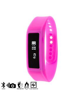 Bracelete Inteligente Smartwatch Rosa