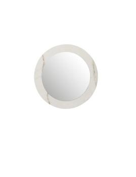 imagem de espelho em Mármore Mdf e Vidro Branco Pequeno1