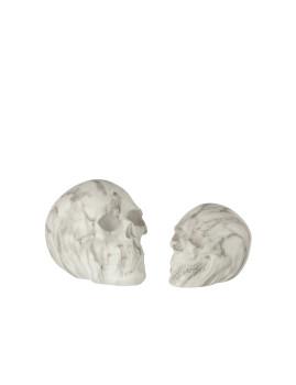 imagem de Crânio Grande decorativo de Mármore2