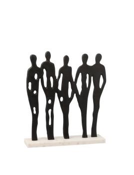 imagem de Personagens em Linha Mármore Preto1
