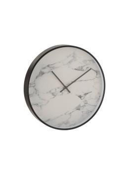 imagem de Relógio em Mármore e Plástico Preto1