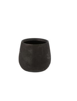 imagem de Vaso Médio de Cerâmica Preta1