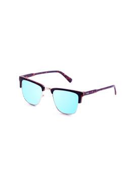 Óculos de Sol Ocean Lanew Castanhos Matte com lentes Azuis