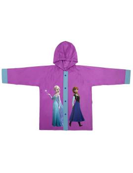 Capa De Chuva Frozen Com Botões  Roxo