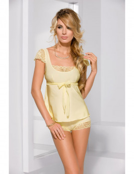Top Pijama  Honey Amarelo