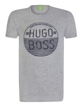 T-Shirt Hugo Boss Cinzenta