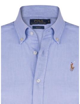 Camisa Ralph Lauren Oxford Senhora Azul 60a87f8b7ec