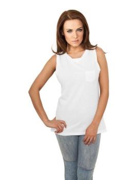 Blusa com Bolso Branco Urban Classics