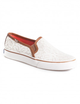 Ténis Keds Double Decker Woven Lace Branco