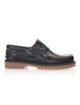 Sapato Castellanisimos de Vela Azul Navy