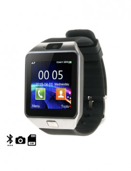Smartwatch Tekkiwear Daam N235 + Micro Sd De 8Gb Clase10 Prateado