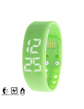 Pulseira Fit Pc Control Verde