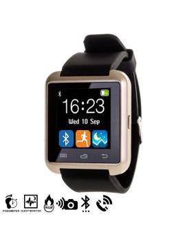 Smartwatch Multifunções Bluetooth Dourado