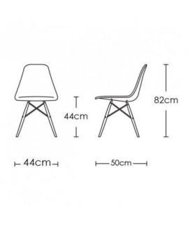 imagem de Cadeira Tower Branca2