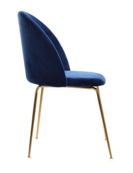 imagem de Cadeira Glam Azul3