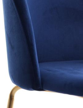 imagem de Cadeira Glam Azul5