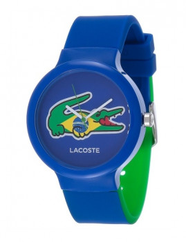 Relógio Lacoste Goa azul forte silicone