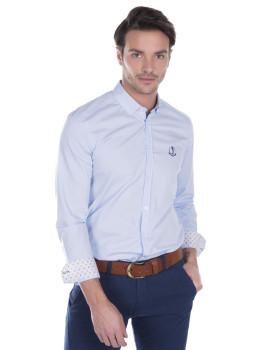 Camisa Sir Raymond Tailor Bent Grass Azul