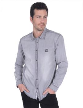 Camisa de Ganga Sir Raymond Tailor Cinzento