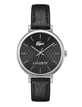 Relógio Lacoste Nice Preto e Prateado