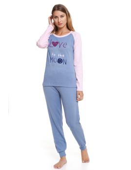 Pijama Lee Cooper Azul Claro Mesclado